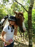 160 Heyer Horseback Riding Daughter Chabil Mar Belize Resort