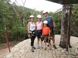160 Heyer Zip Lining Chabil Mar Belize Resort