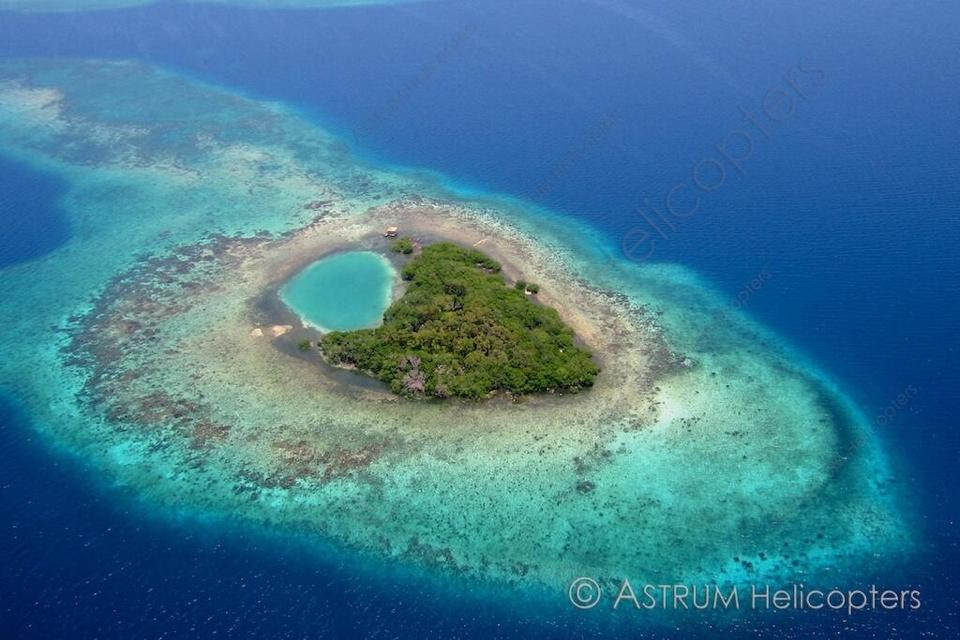 Island by Astrum Helicopters