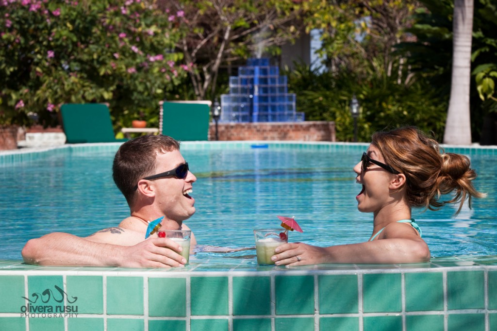 Olivera-Rusu-at-Chabil-Mar-Belize-Resort-Honeymoon-South-Pool-Drinks