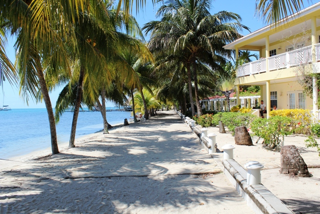 Beach Path Chabil Mar Resort Belize
