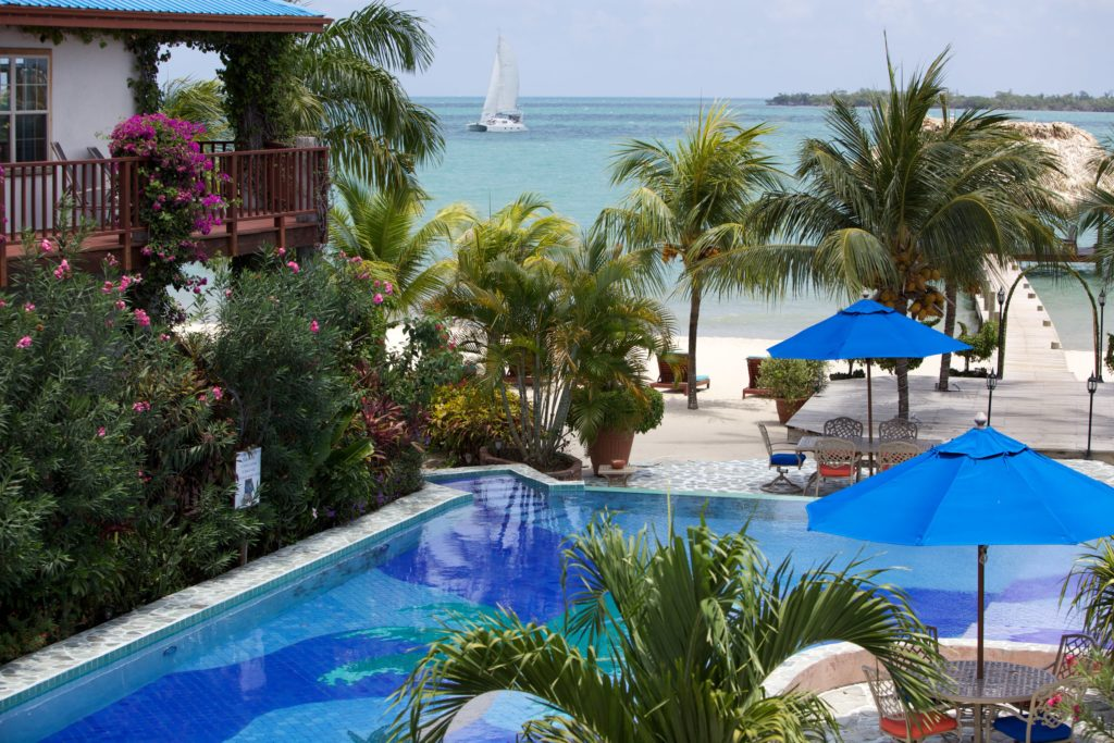 Scenes 2nd Floor Seaview Chabil Mar Belize Resort