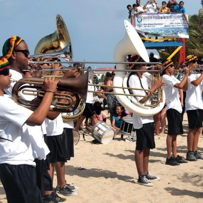 Brass Band Chabil Mar Resort Belize