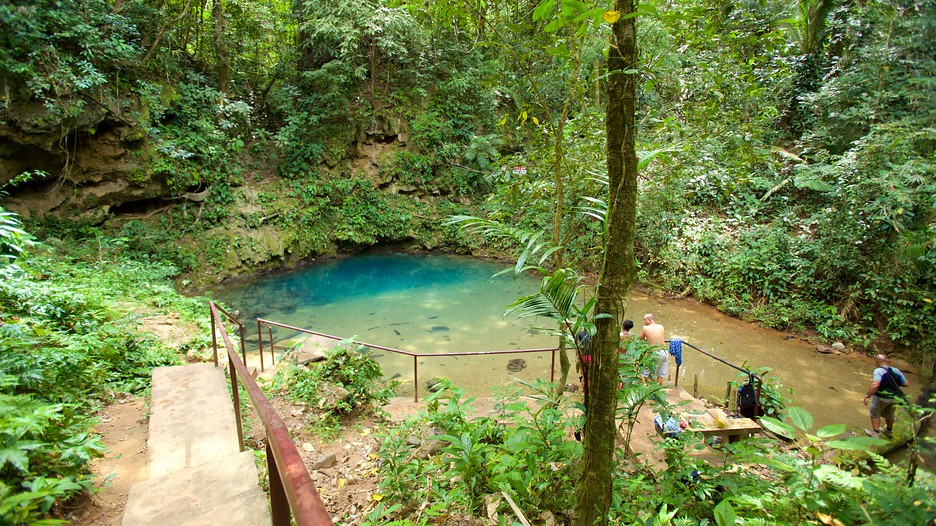 inland blue hole belize