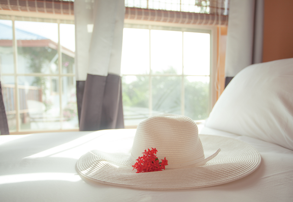 hat-on-bed-chabil-mar-belize-resort