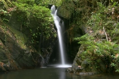 One of the Beautiful Waterfalls of Belize from Chabil Mar