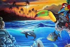 Local Art of Chabil Mar Resort Belize