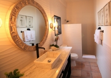 Sample Master Bathroom Chabil Mar Resort Belize