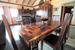 Dining Table Designed & Built by local Furniture Maker