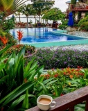 Bask in the Vivid Gardens of Chabil Mar with your Morning Coffee