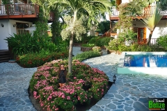 A Stroll Through the Garden Paths Around the Swimming Pools and Beach