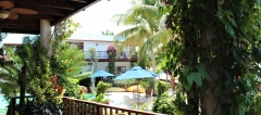 Where the swimming pools are nestled in Lush gardens mingling with 400 feet of private beach - Chabil Mar Belize Resort