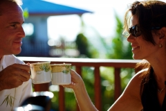 Morning Coffee on Your Villa Veranda - Chabil-Mar-Resort-Belize