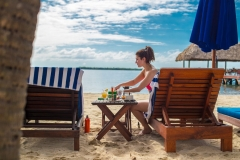Dine While Relaxing On the-Beach - Chabil Mar Resort Belize