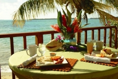 Each Villa has a Caribbean Facing Personal Veranda