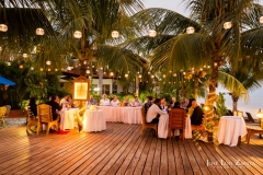 Another Beautiful Evening for a Wedding Reception - Chabil Mar Resort Belize