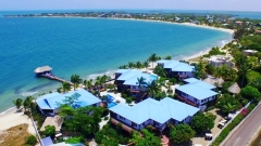 Aerial of Chabil Mar Resort and Placencia Village Point