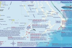 Placencia Scuba Diving Sites - Belize Map