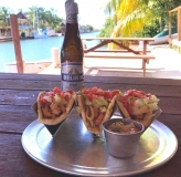 Some great lunch options in Placencia Village