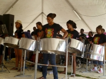 Steel-Drummers, One of the many attractions at Lobsterfest