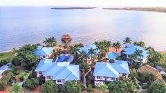 Chabil Mar Aerial To Placencia Village