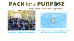 We are proud members of Pack for a Purpose, an initiative that gives our guests the opportunity to make a lasting impact in our community, Placencia Belize.