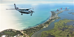 Upon Arrival in Placencia, Belize - Placencia Village at the end of the 16 Mile Long Peninsula
