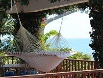 Each Villa veranda includes a Hammock for your Relaxation