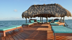 Lounging and Sunning on the Pier - Drinks Please! - Our Roaming Butler Service Awaits your Arrival!