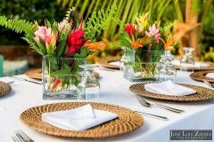 Reception-Place-Settings-Chabil-Mar-Resort-Belize