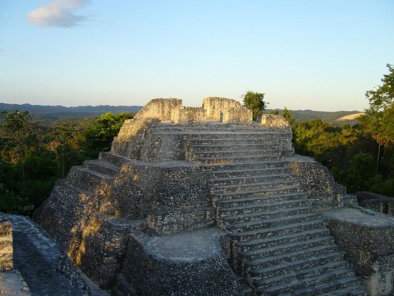 caracol-mayan-ruins in Belize