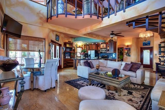 21 LR and Kitchen - Ben Kim - Chabil Mar Resort Belize