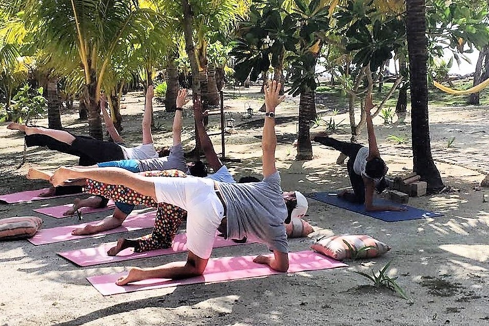 yoga in belize