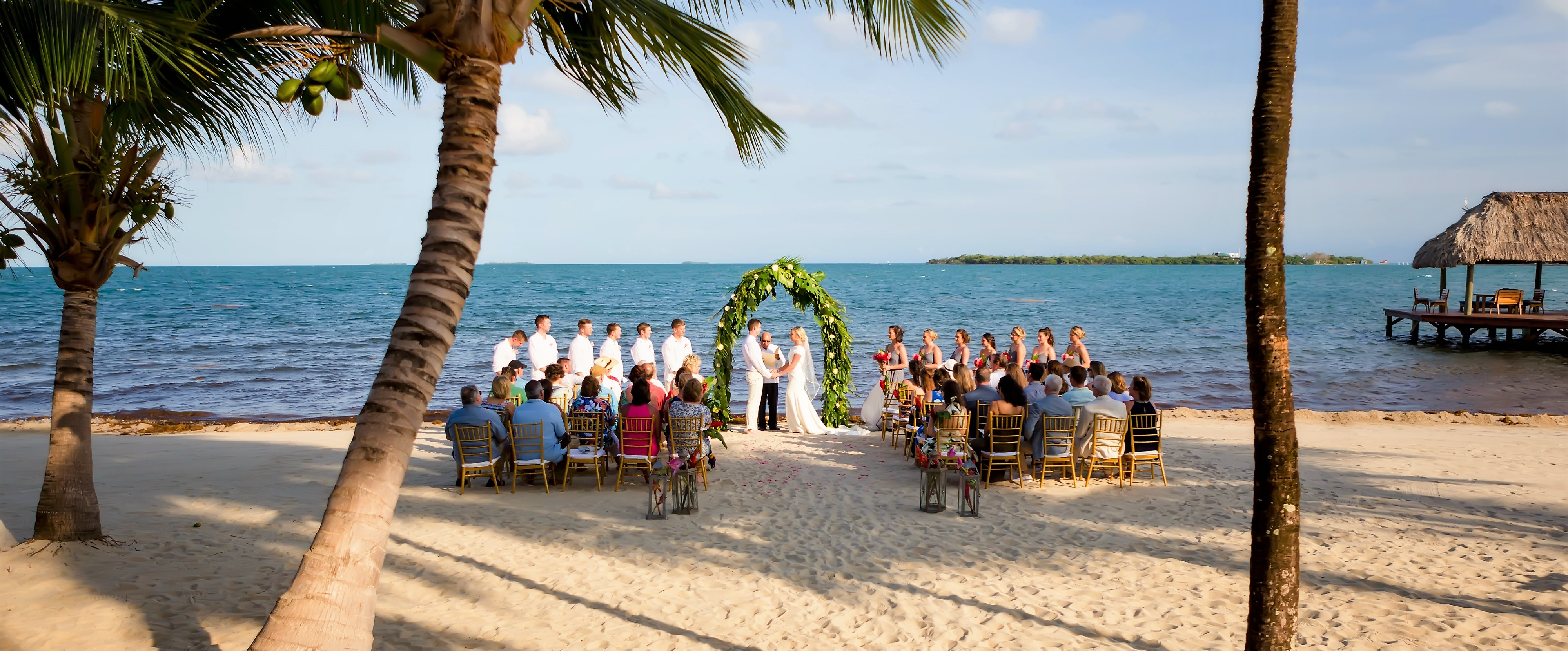 Beachfront Weddings in Belize