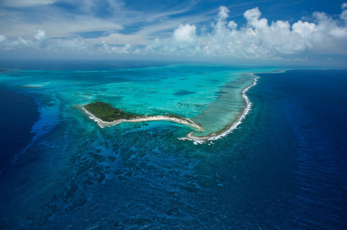 The Belize Barrier Reef